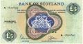 Bank Of Scotland 5 Pound Notes 5 Pounds,  1.11.1968