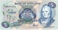 Bank Of Scotland 5 Pound Notes 5 Pounds, 20. 6.1990