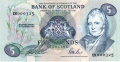 Bank Of Scotland 5 Pound Notes 5 Pounds,  6.11.1991