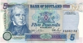 Bank Of Scotland 5 Pound Notes 5 Pounds,  4. 1.1995