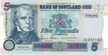 Bank Of Scotland 5 Pound Notes 5 Pounds,  1. 1.2006