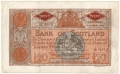 Bank Of Scotland Higher Values 20,  4. 1.1944
