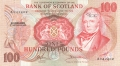 Bank Of Scotland Higher Values 100,  6. 9.1973