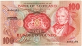 Bank Of Scotland Higher Values 100, 26. 1.1981