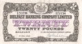 Belfast Banking Company Ltd 20 Pounds,  3. 2.1943