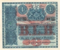 British Linen Bank 1 Pound,  5. 4.1918