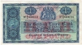 British Linen Bank 1 Pound, 21.10.1953