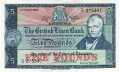 British Linen Bank 5 Pounds, 17. 7.1964