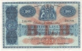 British Linen Bank 20 Pounds, 12. 5.1952