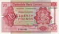 Clydesdale Bank Ltd 1963 To 1981 20 Pounds, 19.11.1964