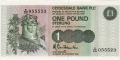 Clydesdale Bank Plc 1 And 5 Pounds 1 Pound, 18. 9.1987