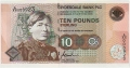 Clydesdale Bank Plc 10 Pounds 10 Pounds,  1. 5.1997