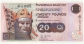 Clydesdale Bank Plc Higher Denominations 20 Pounds, 19. 6.2002