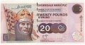 Clydesdale Bank Plc Higher Denominations 20 Pounds, 26. 1.2003