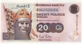 Clydesdale Bank Plc Higher Denominations 20 Pounds, 21.11.2004