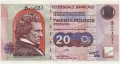 Clydesdale Bank Plc Higher Denominations 20 Pounds,  9. 4.1999