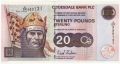 Clydesdale Bank Plc Higher Denominations 20 Pounds,  6. 6.2005