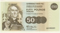 Clydesdale Bank Plc Higher Denominations 50 Pounds, 20. 4.1992