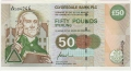 Clydesdale Bank Plc Higher Denominations 50 Pounds, 22. 3.1996