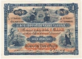 Clydesdale Bank To 1949 1 Pound, 30. 9.1925