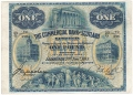 Commercial Bank Of Scotland Ltd 1 Pound,  2. 1.1915