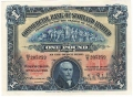 Commercial Bank Of Scotland Ltd 1 Pound, 31.10.1925
