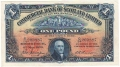 Commercial Bank Of Scotland Ltd 1 Pound,  1. 6.1931