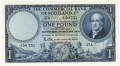 Commercial Bank Of Scotland Ltd 1 Pound,  2. 1.1954