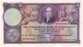 Commercial Bank Of Scotland Ltd 5 Pounds,  3. 1.1955