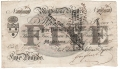 English Provincial Banks Maidstone Bank.  £5 dated 14.10.1825. ,