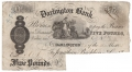 English Provincial Banks 5 Pounds, 24.11.1893