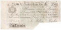English Provincial Banks 10 Pounds,  7. 7.1896