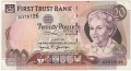First Trust Bank 20 Pounds,  1. 3.1996
