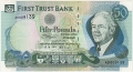 First Trust Bank 50 Pounds, 10. 1.1994