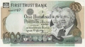 First Trust Bank 100 Pounds,  1. 3.1996