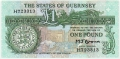 Guernsey 1 Pound, from 1980