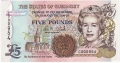 Guernsey 5 Pounds, from 1996