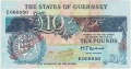 Guernsey 10 Pounds, from 1990