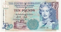 Guernsey 10 Pounds, from 2005