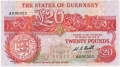 Guernsey 20 Pounds, from 1980