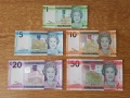 Jersey Higher Values £1, £5, £10, £20, £50., 2010