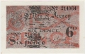 Jersey 6 Pence, 1942 to 1945