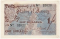 Jersey 1 Shilling, 1942 to 1945