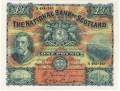 National Bank Of Scotland Ltd 1 Pound, 24. 5.1920
