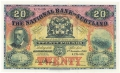 National Bank Of Scotland Ltd 20 Pounds,  1.11.1949