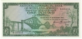 National Commercial Bank Of Scotland 1 Pound,  1.11.1961