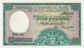 National Commercial Bank Of Scotland 5 Pounds,  3. 1.1961