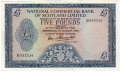 National Commercial Bank Of Scotland 5,  2. 1.1963