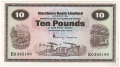 Northern Bank Ltd 10 Pounds,  1. 1.1975