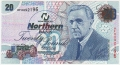 Northern Bank Ltd 20 Pounds, 19. 1.2005